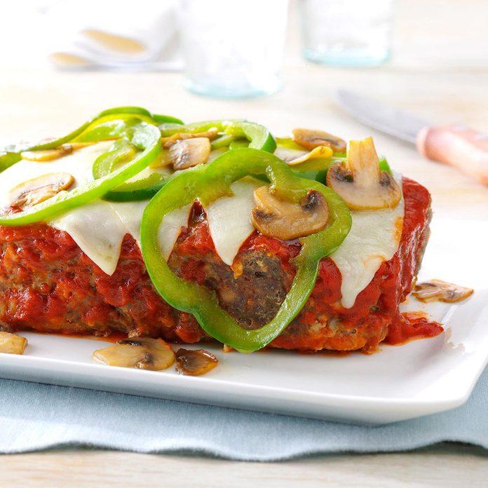 Mozzarella Meat Loaf