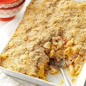 Deluxe Baked Macaroni and Cheese