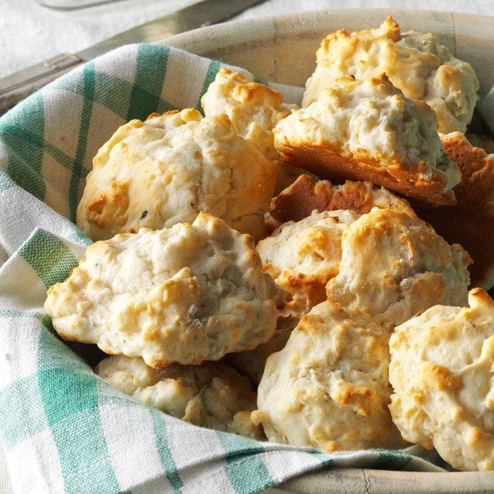 Onion & Garlic Biscuits