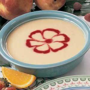 Pretty Peach Soup