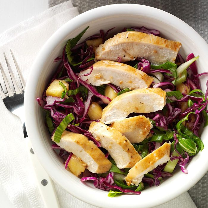 Chicken and Asian Slaw