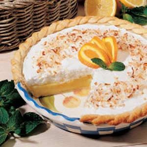 Frosted Orange Pie