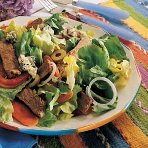 Bison Steak Salad