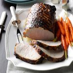 Grilled Dijon Pork Roast