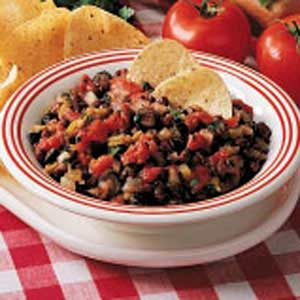 Easy Black Bean Salsa