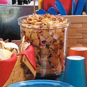 Cajun Party Mix Snack