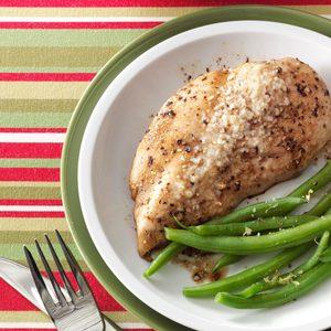 Microwaved Parmesan Chicken