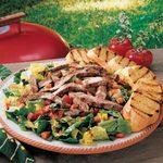 Easy Sirloin Caesar Salad