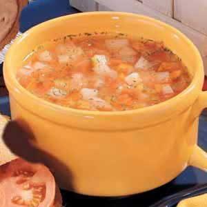 Freezer Vegetable Soup