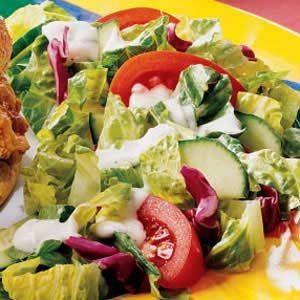 Quick Buttermilk Salad Dressing