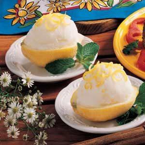 Refreshing Lemon Cream