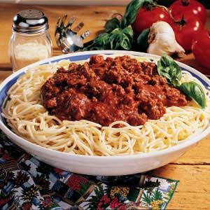 Spaghetti Sauce Mix