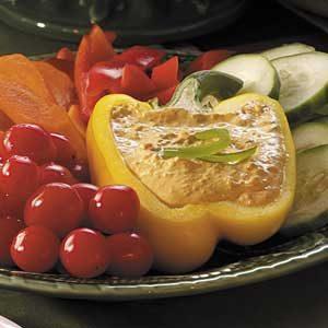 Creamy Red Pepper Dip