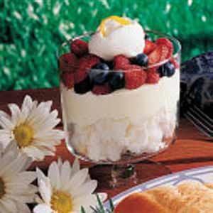 Lemon Berry Trifle