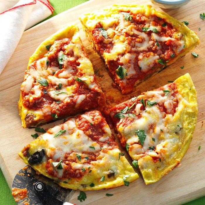 Sausage & Mushroom Pizza Frittata