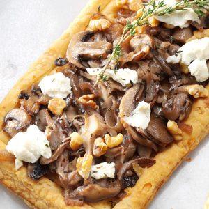 Mushroom Pastry Tarts