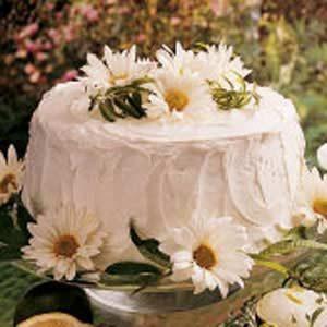 Sunshine Sponge Cake
