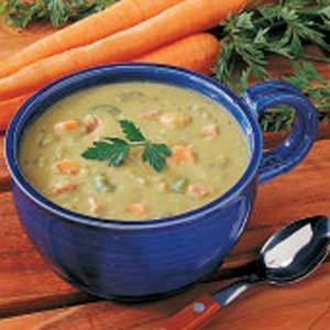 Spicy Split Pea Soup