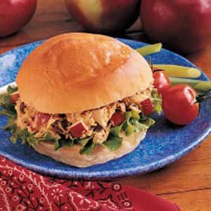 Curried Tuna Sandwiches