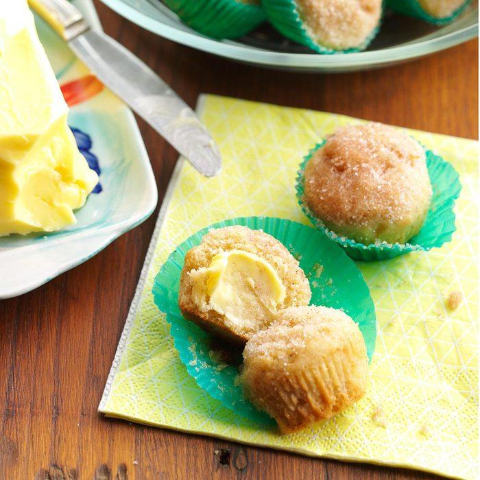 Double-Duty Applesauce Mini Muffins