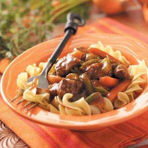 Slow-Cooked Stew