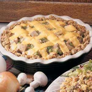 Turkey 'n' Stuffing Pie
