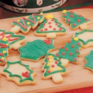 Cutout Sugar Cookies