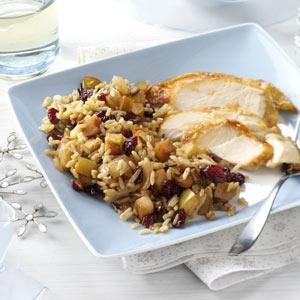 Cran-Apple Wild Rice
