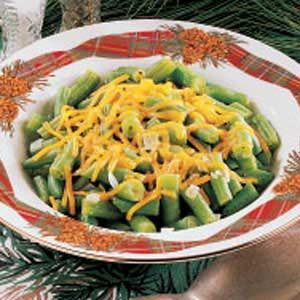 Cheddar Green Beans