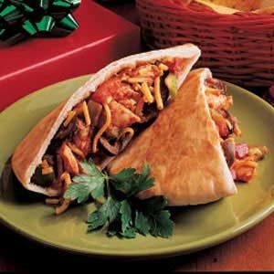 Turkey Pita Tacos