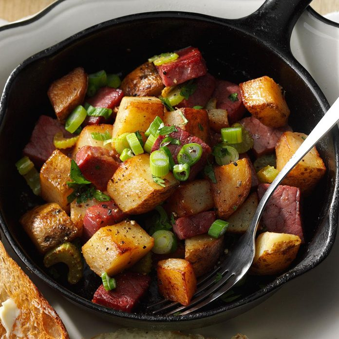 Inspired by: Corned Beef Hash