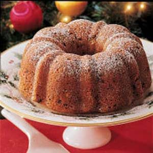 Winning Cranberry Bundt Cake