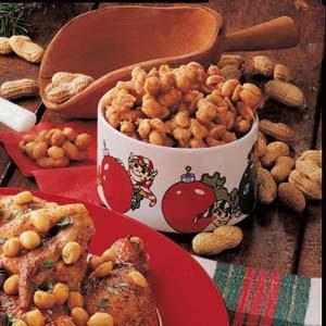 Sugared Peanut Clusters