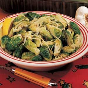 Lemon Garlic Sprouts