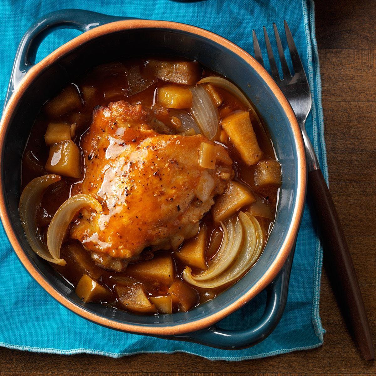 Day 9: Autumn Apple Chicken