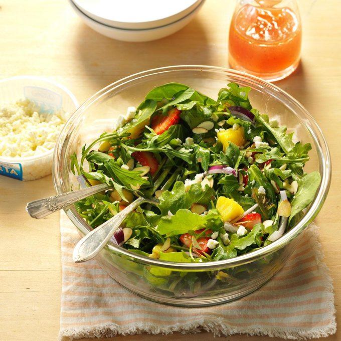 Strawberry Garden Salad
