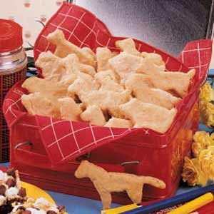 Oatmeal Animal Crackers