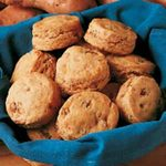 Nutty Sweet Potato Biscuits