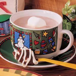 Quick Maple Hot Chocolate
