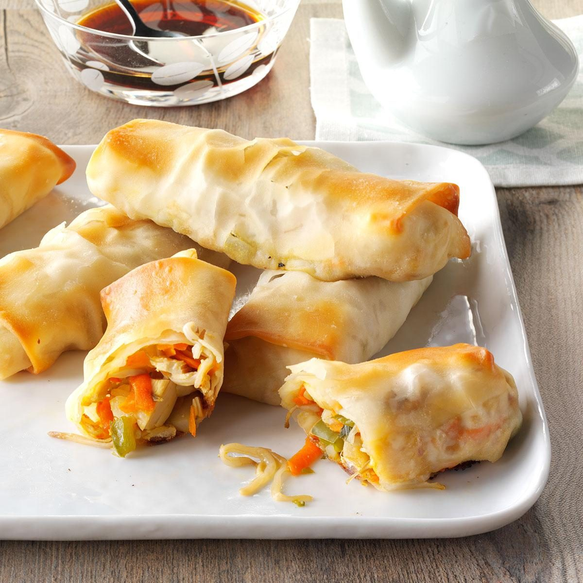 Inspired by: PF Chang's House-Made Chicken Egg Rolls
