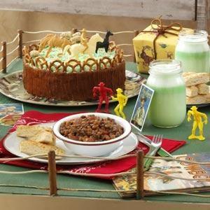 Cowpoke Corral Birthday Cake