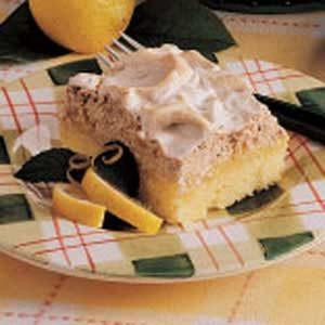 Lemon Meringue Torte