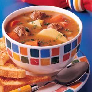Simple Meatball Stew