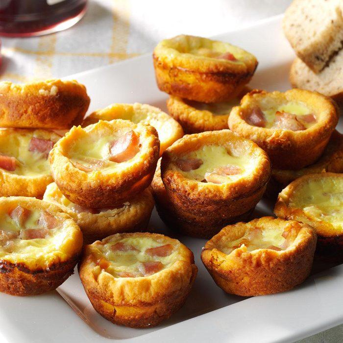 Ham N Cheese Quiches