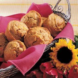 Caraway Rye Muffins