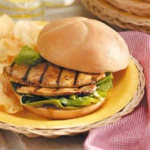 Mustard Turkey Sandwiches