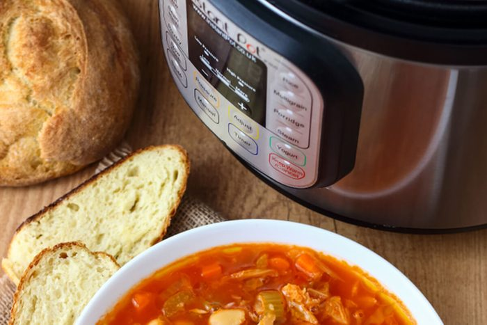 Minestrone Soup made in Instant Pot