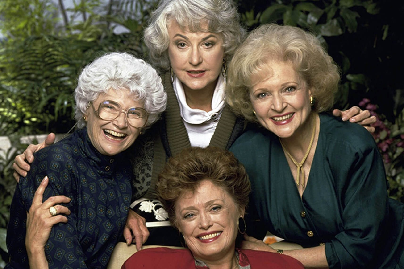 Bea Arthur, Estelle Getty, Betty White, Rue McClanahan The Golden Girls Touchstone TV/Whitt-Thomas-Harris Prod USA TV Portrait Tv Classics