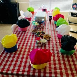 chef party