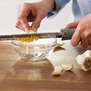 Microplane garlic